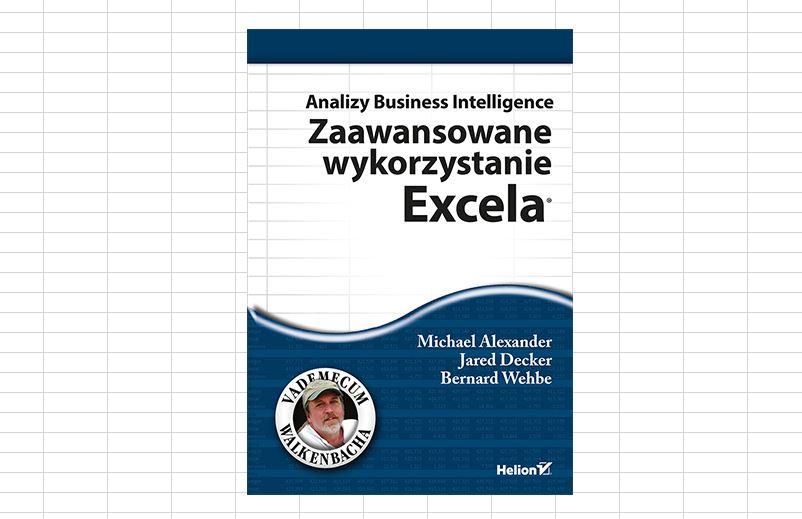 Analizy Business Intelligence Excel - książka w PDF
