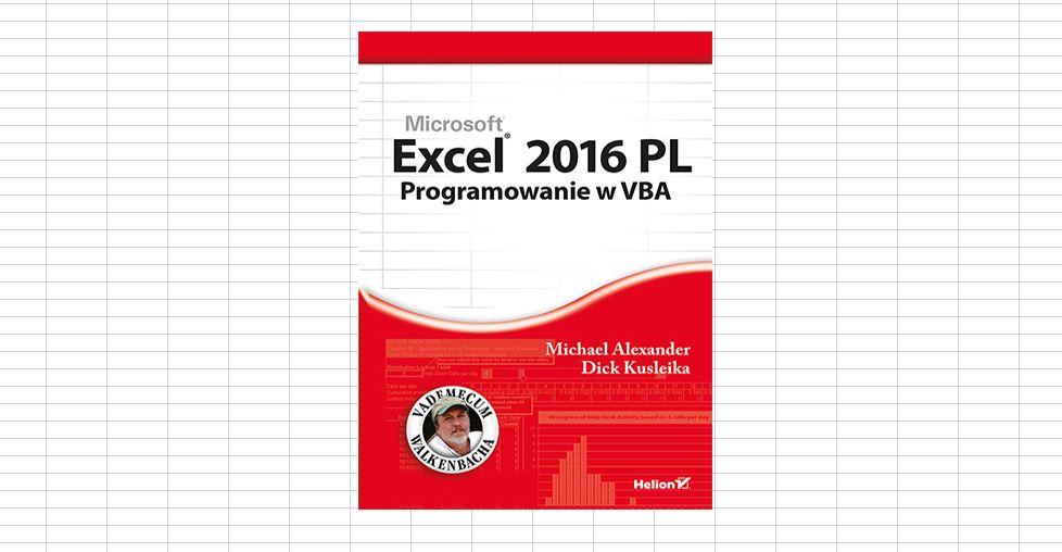 Excel 2016 Programowanie VBA pdf do pobrania