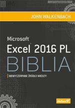 Książka Excel 2016 PL - Biblia