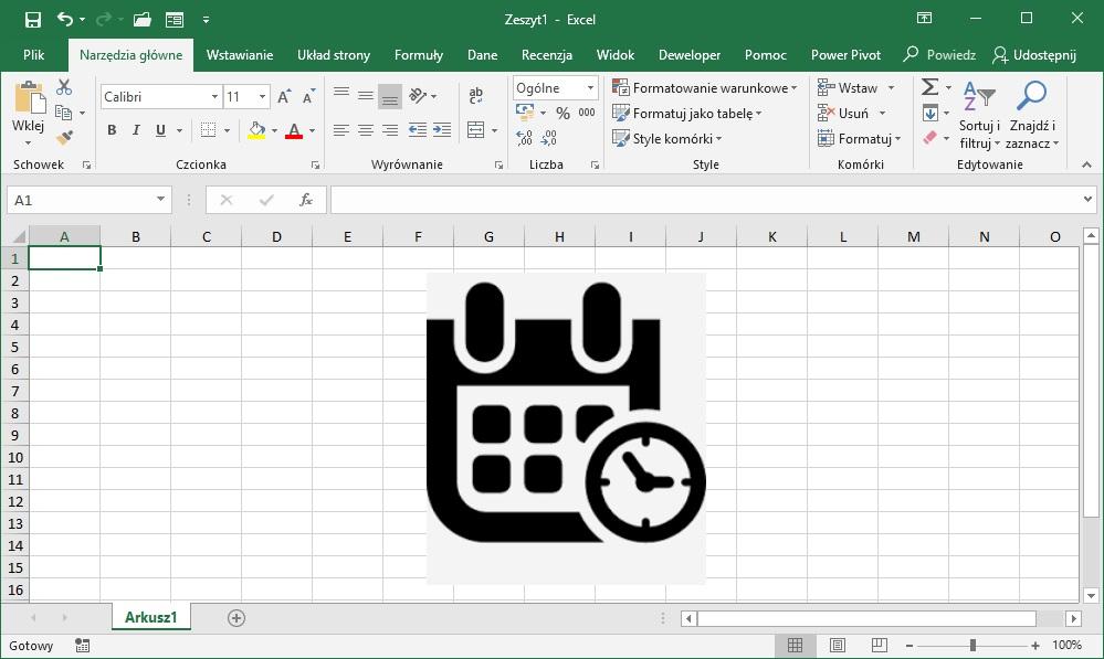 Excel - jak bliczyc różnicę dat?
