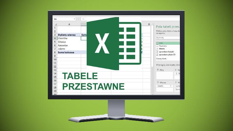 Kurs Excel - tabele przestawne w pigulce