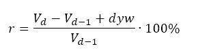 stopa zwrotu - wzor obliczeń z dywidendą